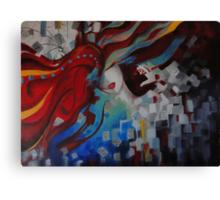 Embedded  Canvas Print