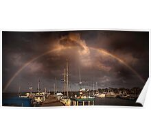 Rainbow dock Poster