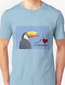I love toucans blue T-Shirt