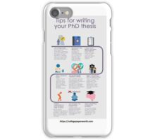 Tips of thesis writing iPhone Case/Skin