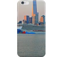 Cruise Ship Norwegian Breakaway On The Hudson Rv. iPhone Case/Skin