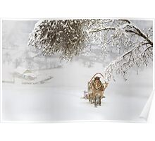 Country Winter Poster