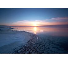 Frozen Shores Photographic Print