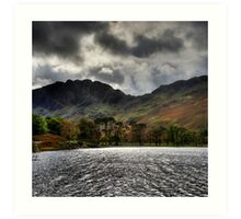 Haystacks and Seat from Buttermere, Cumbria, England Art Print