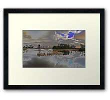 Great lake Framed Print