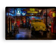 Hot Rod Garage 1 Canvas Print