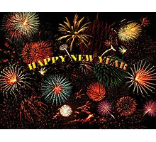 Happy New Year Photographic Print
