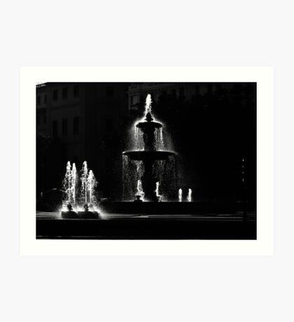 Madrid - Plaza de la Independencia Art Print