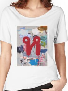 """Thai Characters """"ห"""" Women's Relaxed Fit T-Shirt"""