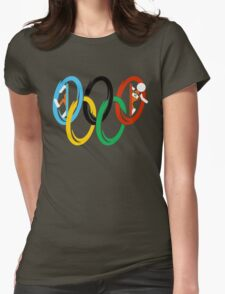 Olympic Portals Womens Fitted T-Shirt