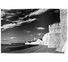 South Coast Cliffs - UK Poster