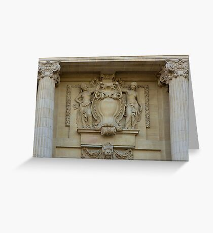 Le Grand Palais - Intricate Details © Greeting Card