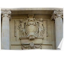 Le Grand Palais - Intricate Details © Poster