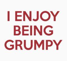I Enjoy Being Grumpy by AmazingVision