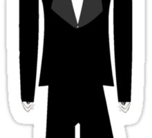 Gothic Butler Character Sticker