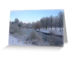 Shrewsbury Quarry 2 Greeting Card