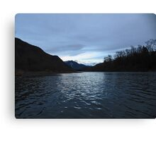 Last Light on the Skagit Canvas Print