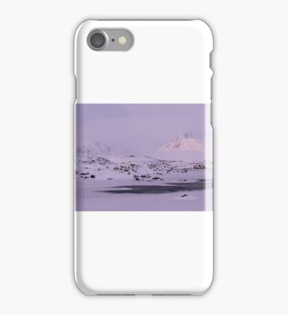 Rannoch Moor iPhone Case/Skin