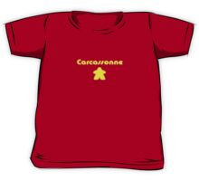 Carcassonne Meeple Parody T-shirt Kids Clothing Kids Tee