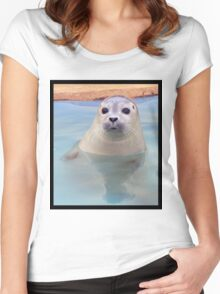 Seal pup Women's Fitted Scoop T-Shirt