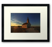 St. Olaf's - The Old Rock Church Framed Print