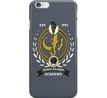 Black Ranger Academy iPhone Case/Skin