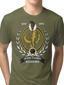 Black Ranger Academy Tri-blend T-Shirt