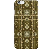 Plaid Painterly Chain iPhone Case/Skin