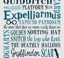 Harry Potter - All Quotes  by emapremo