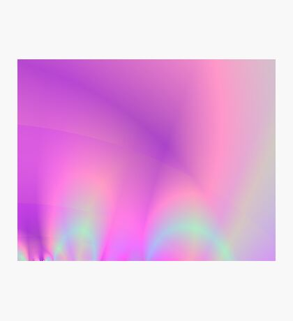 Abstract Colour Rays Photographic Print