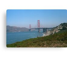 San Francisco - Golden Gate Bridge Canvas Print