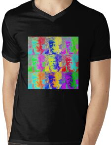 Warhol Rowsdower Tee (for my fellow MST3K fans) Mens V-Neck T-Shirt