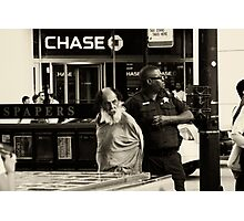 The chase ended Photographic Print