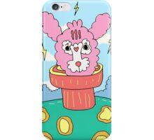 Pink Rabbit in her world iPhone Case/Skin