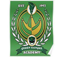 Green Ranger Academy Poster