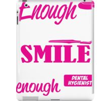 sweet enough to make you smile skilled enough to protect it iPad Case/Skin