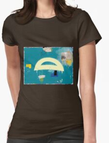 """Thai Characters """"ิ"""" Womens Fitted T-Shirt"""