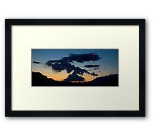 Southern Utah Sunset Framed Print
