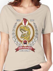 Red Ranger Academy Women's Relaxed Fit T-Shirt
