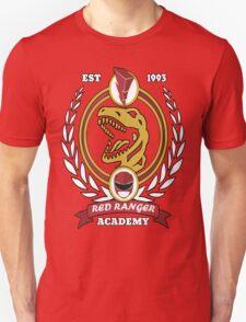 Red Ranger Academy T-Shirt