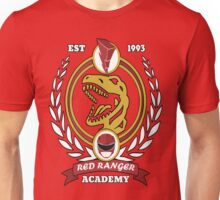 Red Ranger Academy Unisex T-Shirt