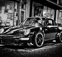 Late Night Porsche by Sean Routon