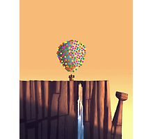 Up (Disney) - House on the Top of the Mountain Photographic Print