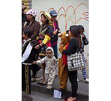 Cuenca Kids 666 Photographic Print