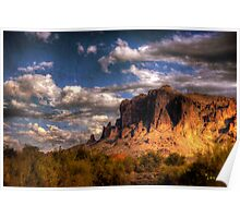 Superstition Mountains-4 Poster