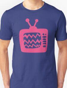 Vintage Pink Cartoon TV T-Shirt