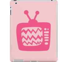 Vintage Pink Cartoon TV iPad Case/Skin