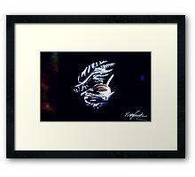 Xenomorph Protecting Child Framed Print