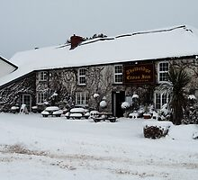 Thelbridge Cross Inn by Rob Hawkins