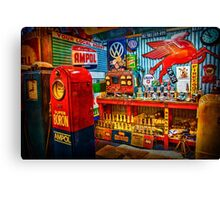 Hot Rod Garage 2 Canvas Print